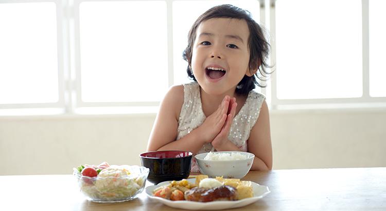 ライフステージ別食育:幼児期(1歳〜5歳)