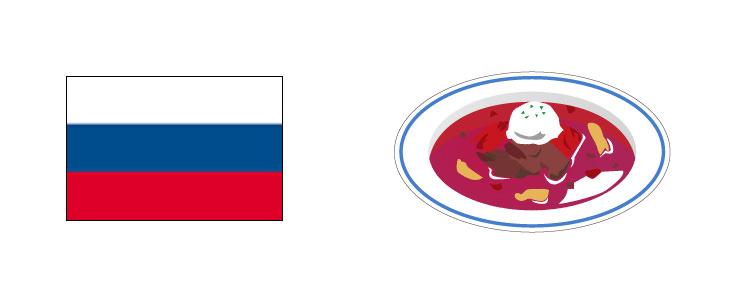 ロシア ボルシチ