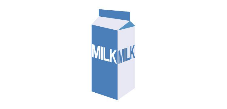 牛乳パック1本(1ℓ)