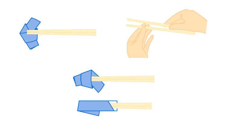 割り箸を割るときに気をつけること