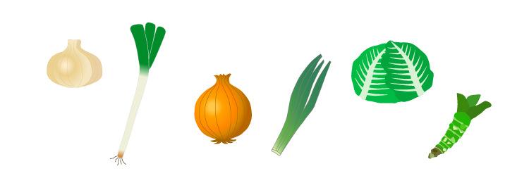 イオウ化合物を多く含む食品