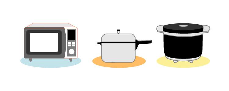 便利で省エネ、大活躍!エコな調理器具