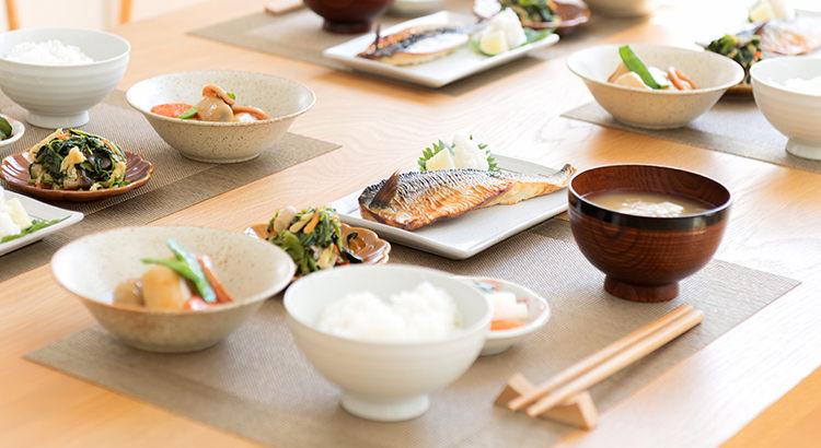 和食の「五味・五色・五感・五法」