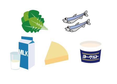 カルシウムを含む食品