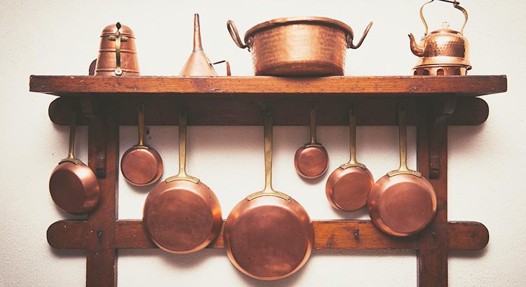 調理器具の豆知識! ~銅フライパン~