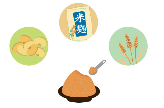 味噌の種類