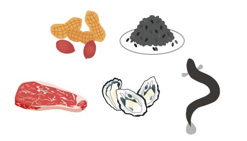 亜鉛を含む食材