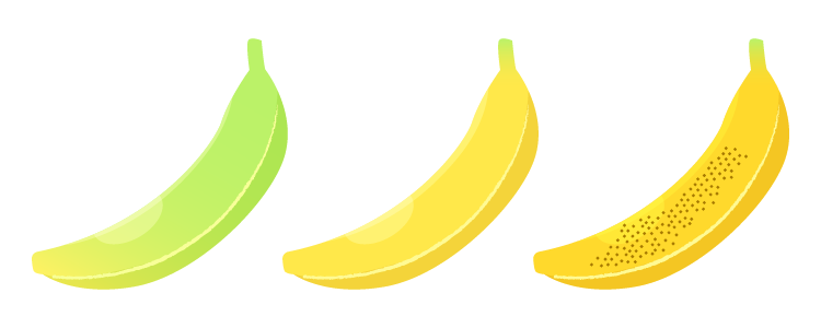 バナナの主な栄養素